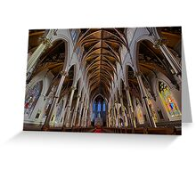 CATHEDRAL OF THE HOLY CROSS Greeting Card