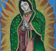 Virgin of Guadalupe by melblossom