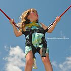 My daughter flying in the sky by Kajungurl