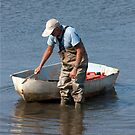 Dinghy And Waders by phil decocco