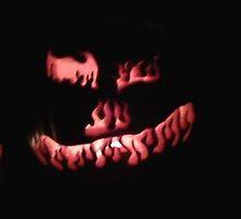 Flaming Pumpkin by nlburke78
