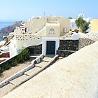 Oia Village, Santorini by Carole-Anne