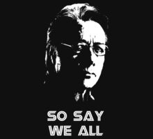 Admiral Adama : So Say We All by demios