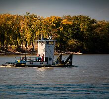 Autumn on the Mississippi by KBritt