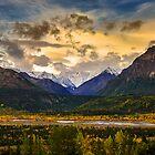 Good Morning Alaska by Noppawat Charoensinphon