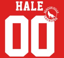 "Teen Wolf - ""HALE 00"" Lacrosse  Kids Clothes"