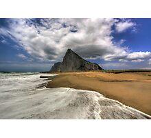Lavante Over Gibraltar Photographic Print