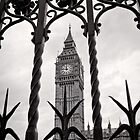 Keeping good time - Big Ben  - London - Britain by Norman Repacholi