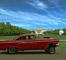 1956 Ford Pro Street by TeeMack