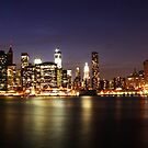 Manhattan Panoramic by Andrew Paranavitana