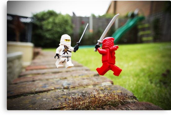 Miniature Ninja Showdown  by Amertastic