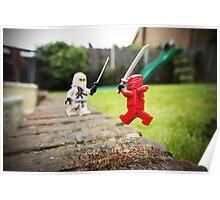 Miniature Ninja Showdown  Poster