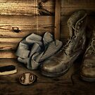 OLD BOOTS by Rob  Toombs