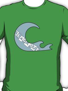 Blackout Clothing Wave Logo T-Shirt