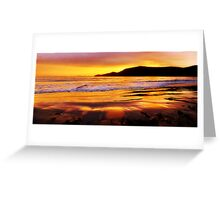 Bruny Island sunrise - Bruny Island, Tasmania, Australia Greeting Card