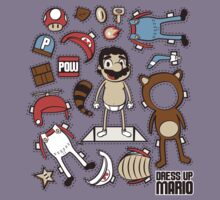 Dress up Mario by Scott Weston