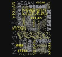 Vegan Type - Grunge by veganese