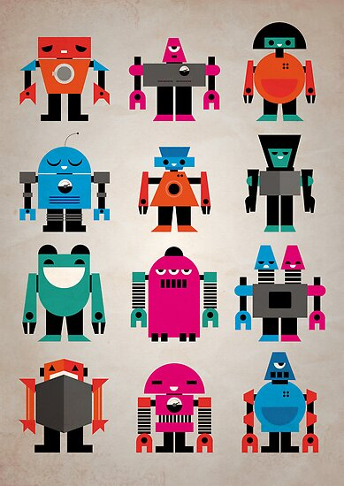 Robots by Marco Recuero