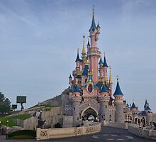 Sleeping Beauty's Castle by JohnYoung