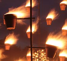 Flaming Pots, Milton Keynes, England, UK * by Justin Mitchell
