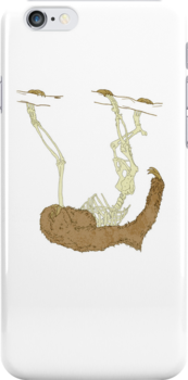 Skeleton Of A Sloth by Badgereen