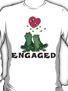 "Funny Engaged ""We're Engaged"" T-Shirt"