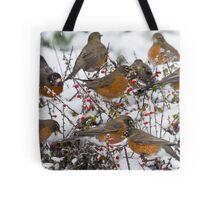 Winter Feast Tote Bag