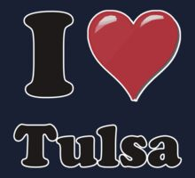 I Heart / Love Tulsa by HighDesign