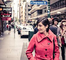 Degraves St by Joel McDonald