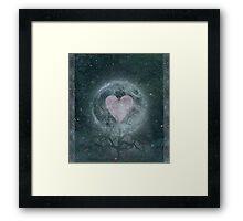 Moon Garden  Framed Print