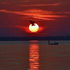 Sunset Fishing by BeachBumPics