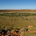 Wolfe Creek Meteorite Crater W.A. by DianneLac