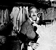 Tannery Worker by Mojca Savicki
