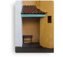 Porch Bench Canvas Print