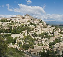 Gordes Hill Town in The Luberon by Jim Hellier
