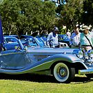 1936 Mercedes by Debbie-anne