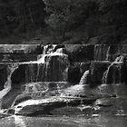 Lower Taughannock Falls by Mark  Reep