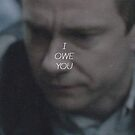 I OWE YOU - SHERLOCK (COLOUR) by Amy Elouise