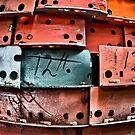 Metal Struts 11 by Adam Northam