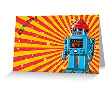 Devo Bots 002 Greeting Card