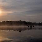 Morning Kayaker by Gayle Dolinger