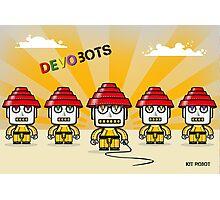 Devo Bots 005 Photographic Print