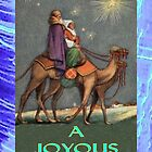 Christmas Card - Joseph and Mary on their journey by chompo