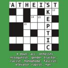 Atheism + Skepticism ≠ Atheism+ by thecriticalg