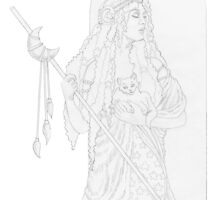 Hecate by redqueenself