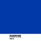 Pantone Plastica 286 C iPhone case by Plastica Tees