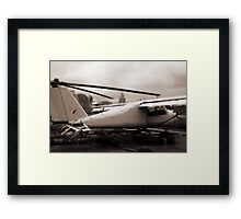Old Airplane Framed Print