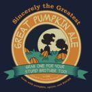 Great Pumpkin Ale Linus and Lucy by AndreeDesign