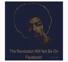 The Revolution Will Not Be On Facebook - STICKER by MTKlima