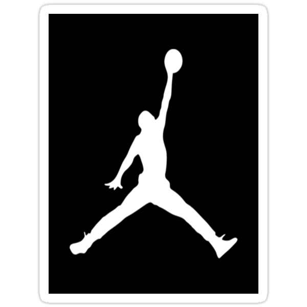 Air Jordan Decal Sticker by sdgraphics